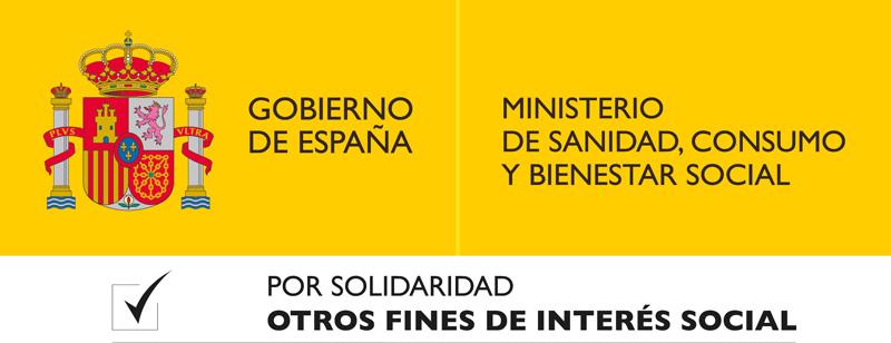 Logo Ministerio de Sanidad, Consumo y Bienestar Social